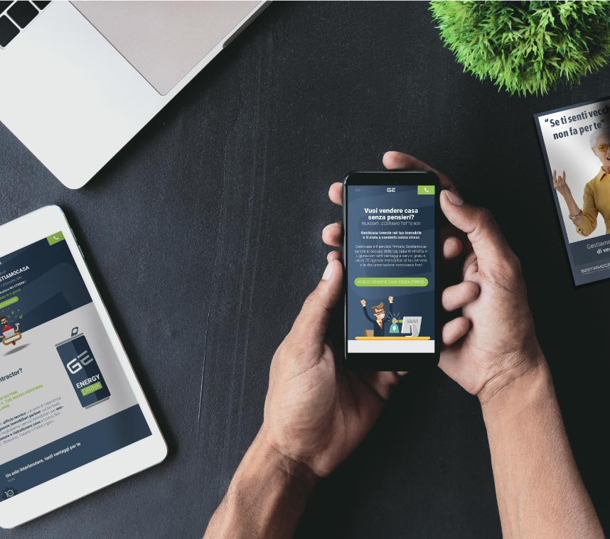 Ottimizzazione dispositivi mobile e tablet