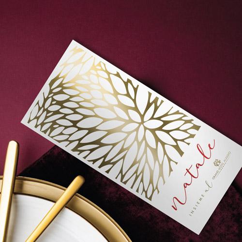 Grafica coordinata natalizia Grand Hotel Alassio