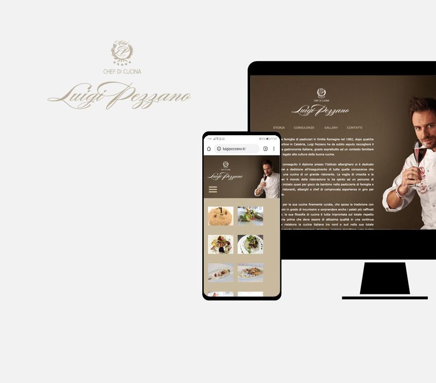 Luigi Pezzano progettazione sito web