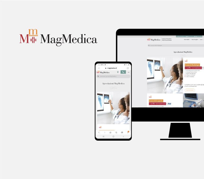 MagMedica, progettazione sito web