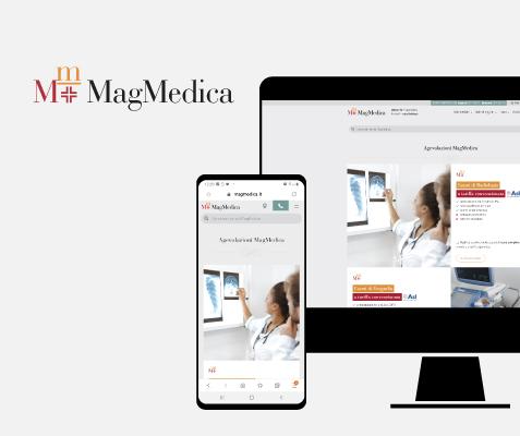 Magmedica, portfolio siti web