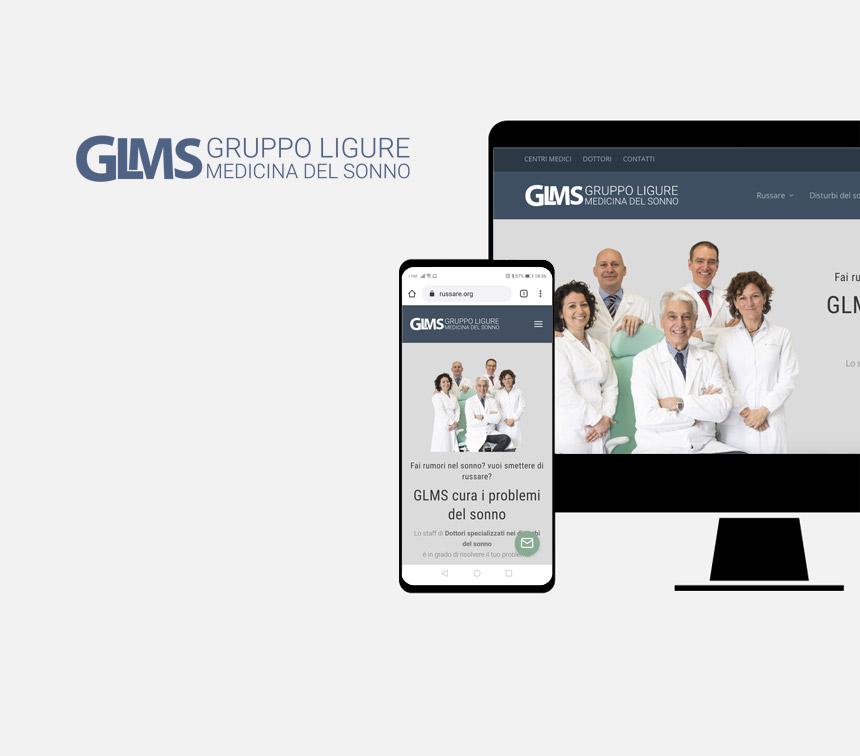 Gruppo Ligure Medicina del Sonno, progettazione sito web