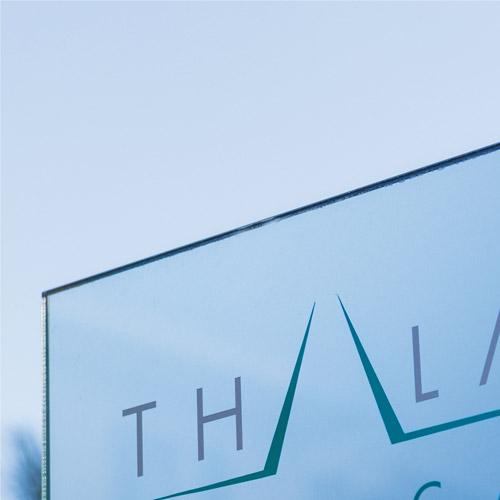 Thalassio medical SPA progettazione grafica