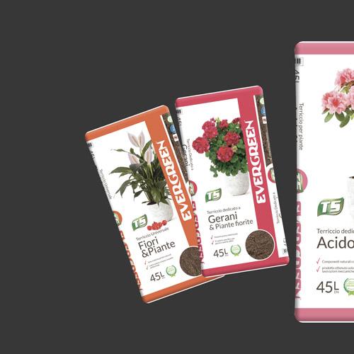 Linea sacchi gerani e fiori Turco Silvestro