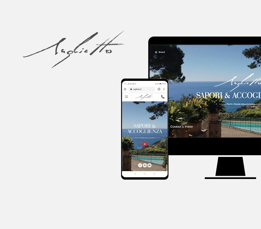 Uliveto Saglietto progettazione sito web
