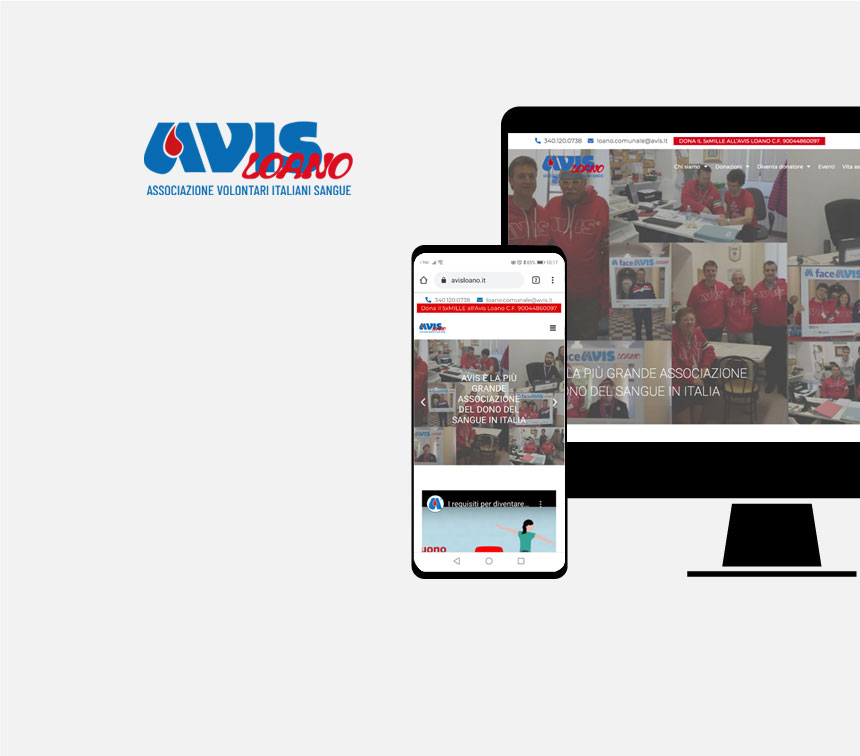 Sito web Avis Loano