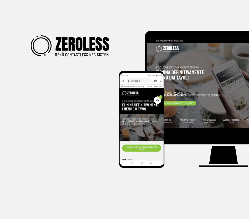 Sito web Zeroless